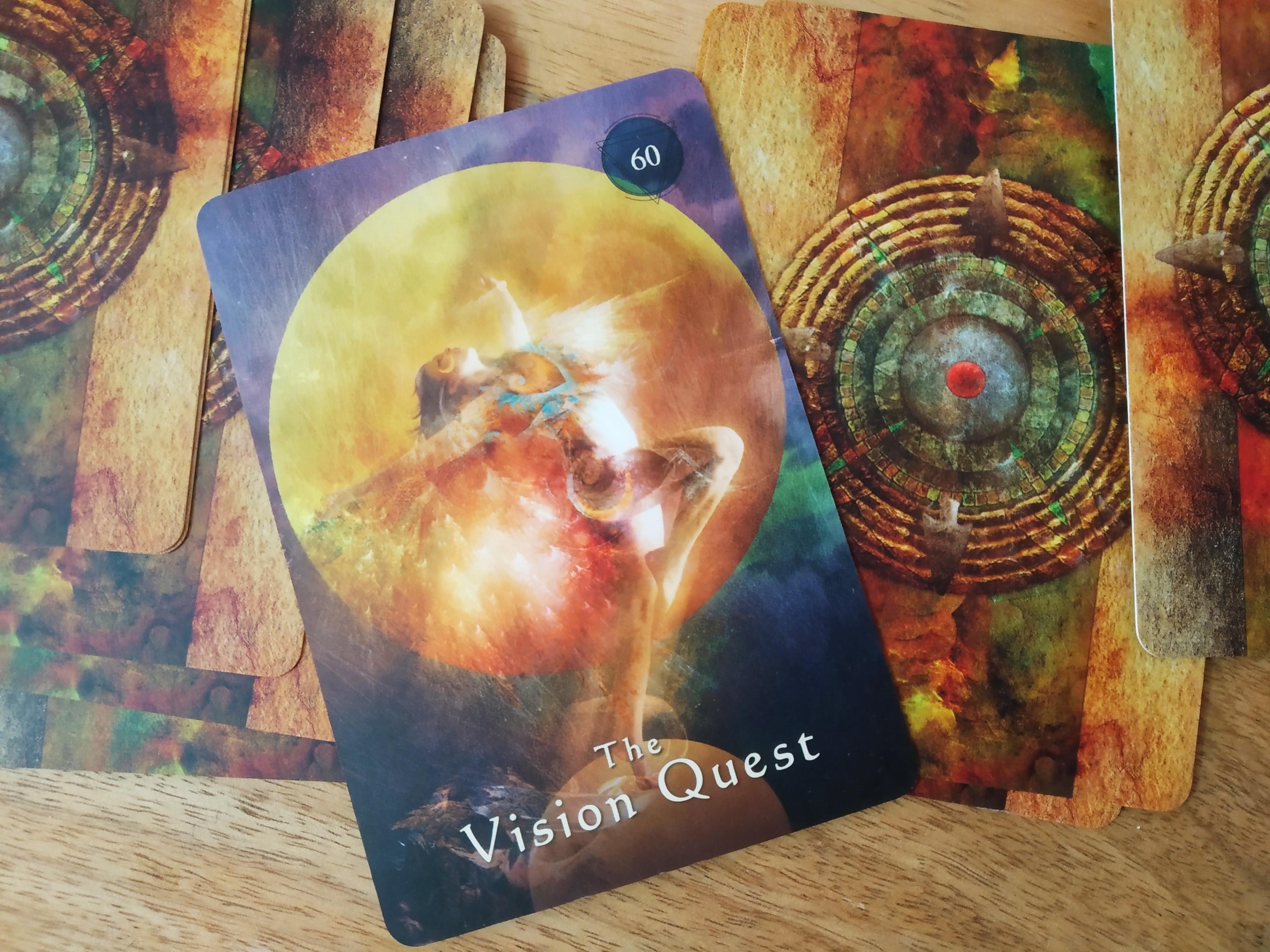 Vision quest shaman's deck