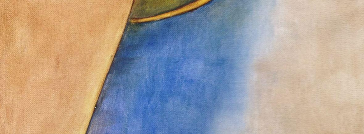 abstract shiva painting