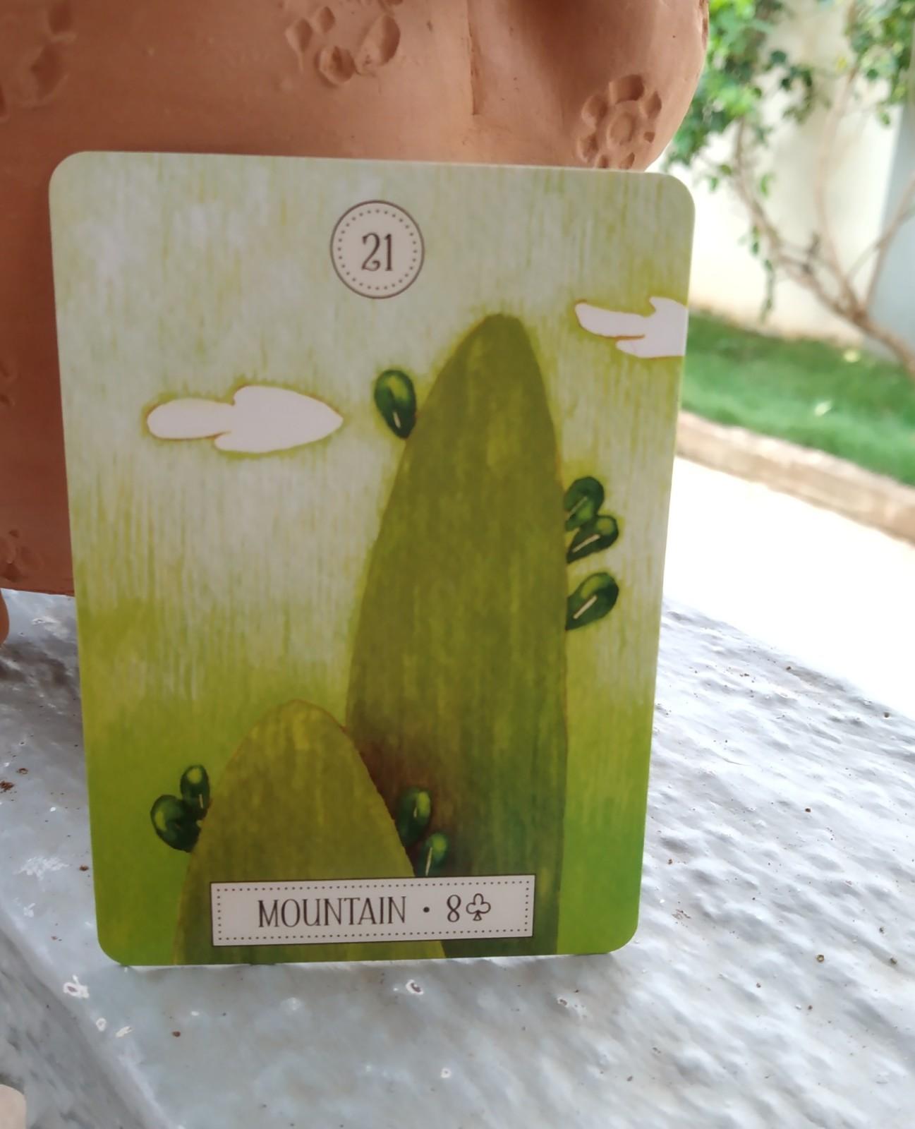 mountain oracle card, mountain spiritual meaning